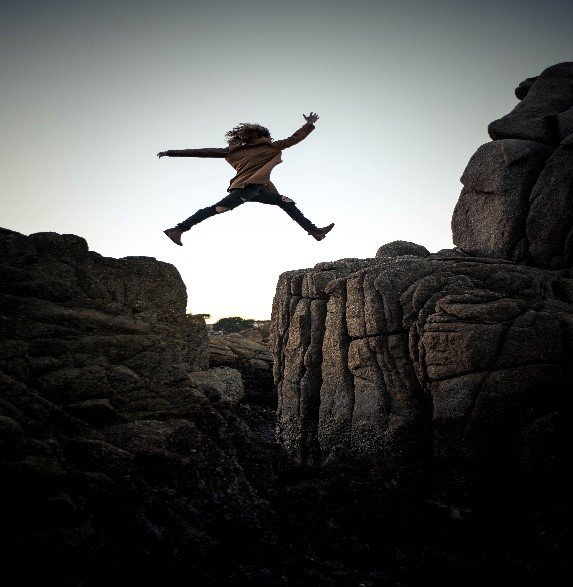 Courage to Take That Leap